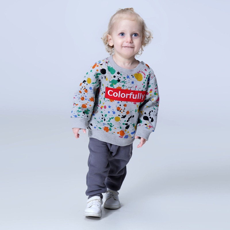 New 2018 spring fashion children clothing sets baby boy clothes 18M -6T sport costumes 12 colours Girls Clothes for kids wear