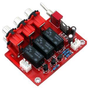 Image 2 - DC12V trzy sposób wejście wejście Audio przełączania wyżywienie YJ00309