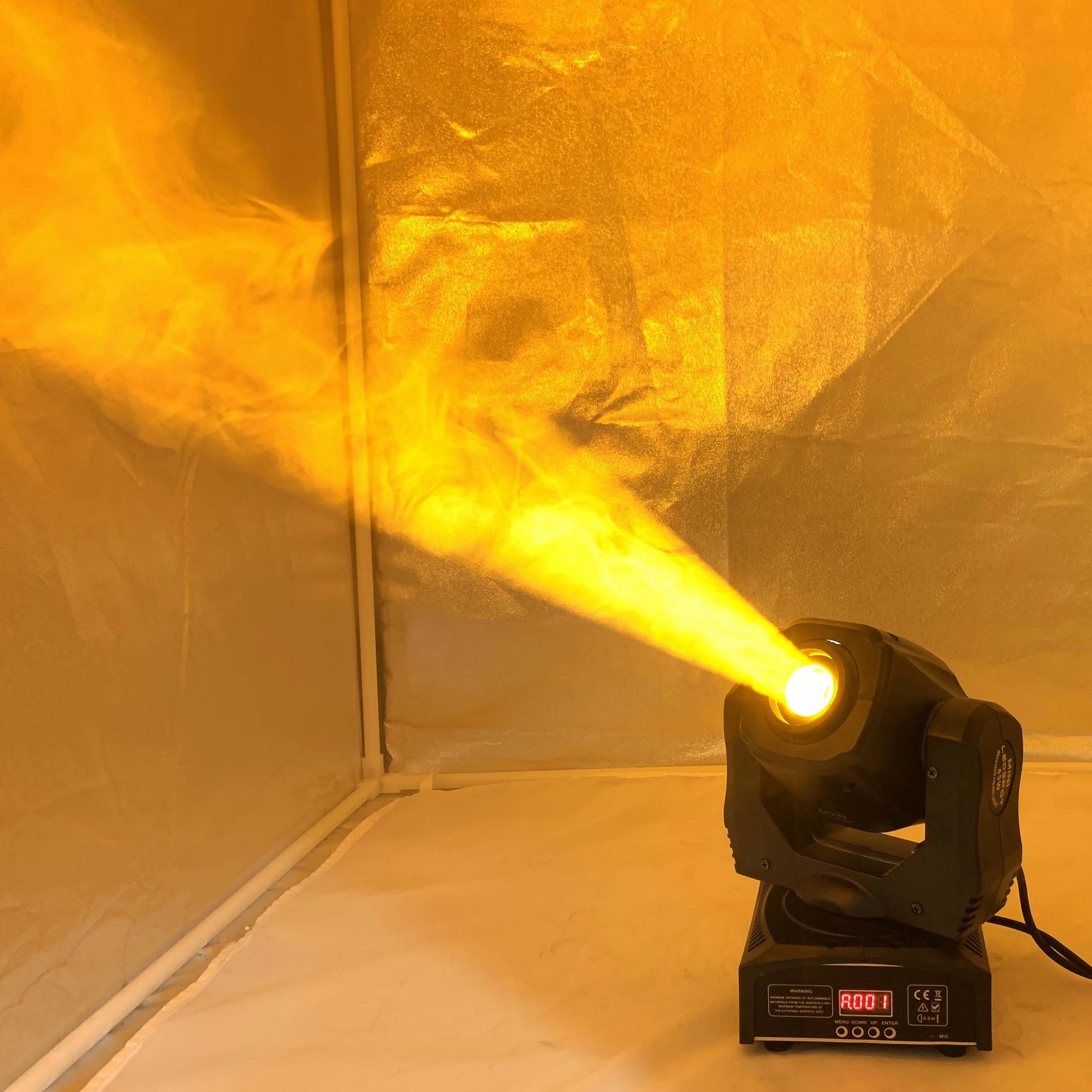 Светодиодный светильник с подвижной головкой/USA Luminums светодиодный DJ Точечный светильник 65 Вт gobo светодиодный dj сканеры супер яркий светоди