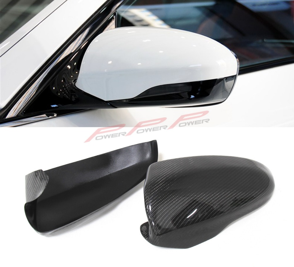 For BMW F10 M5 F06 M6 2012 2013 2014 2015 2016 Carbon Fiber Mirror Cover Rear View Add on Syle