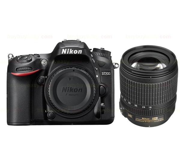 Nikon D7200 DSLR Camera Body & AF-S DX NIKKOR 18-105mm f/3.5