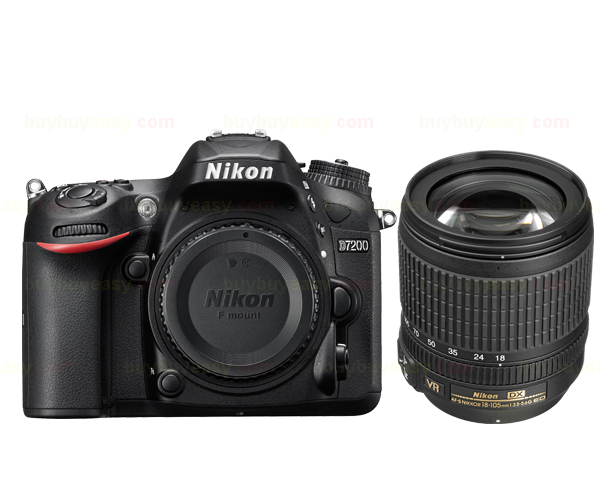 Nikon D7200 DSLR Camera Body & AF-S DX NIKKOR 18-105mm f/3.5-5.6G ED VR Lens