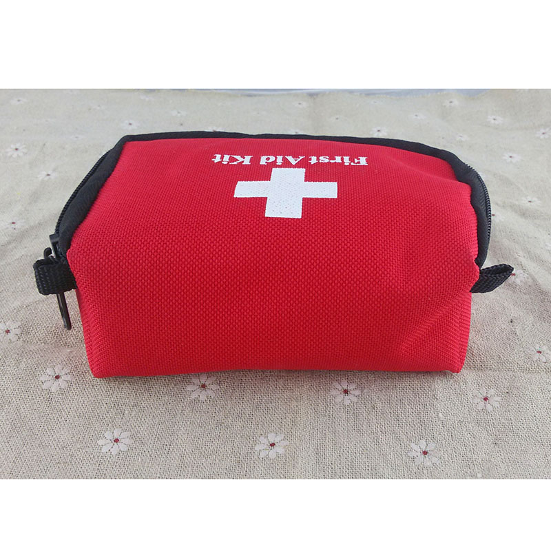 First Aid Kit Rescue Bag Survival Emergency Treatment Mini For Outdoor Hiking Camping QF66