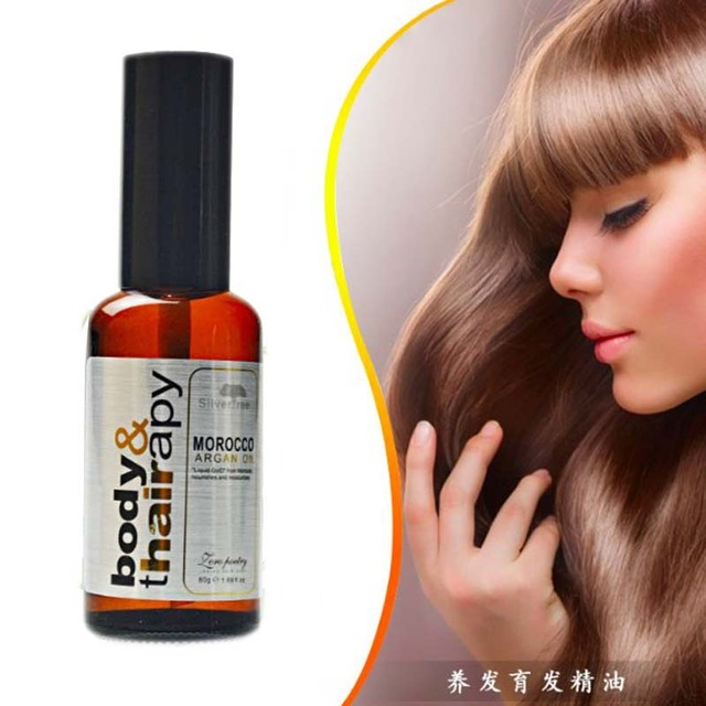 Moroccan argan oil for hair care and protects damaged hair for moisture hair 50ml hair salon products Free shipping