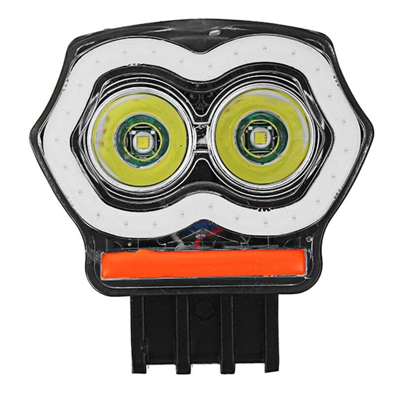 20W 12/80V IP68 2000LM LED motocicleta Angel Eyes USB Faro de alta intensidad de alta calidad superbrillo Kalen, Nueva joyería única para hombre, pulsera de amuleto de motocicleta de acero inoxidable, brazalete de cuero duradero Rock Punk, regalo barato genial