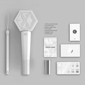 Image 2 - EXO Concert Light Stick Sehun Fans Supporting Glow Lightstick Kpop Gift Collection Action Figure Toy Events Party Supplies