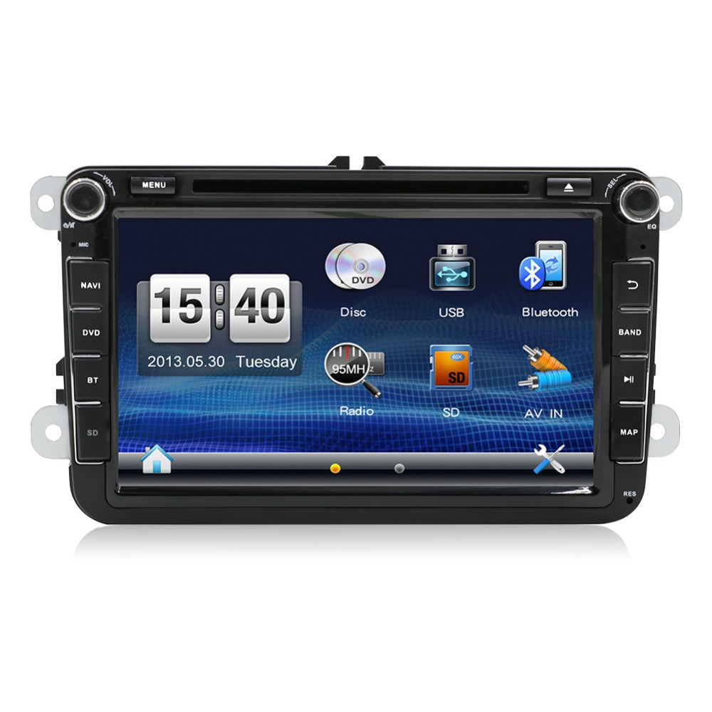 new 2din car dvd gps player for vw golf 5 golf 6 polo passat cc jetta tiguan touran eos sharan. Black Bedroom Furniture Sets. Home Design Ideas