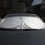 6 Unids/set Profesional Coche Ventana Lateral Trasera Parasol Delantero EA1102 Reflector Cubierta de Láminas de Protección Solar Envío Libre