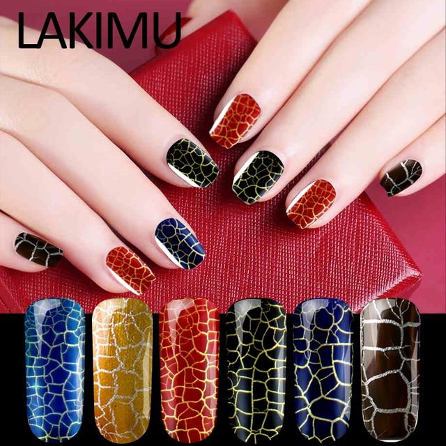 Lakimu Professional Gel Nail Polish Cracking Nail Art Polish Gel