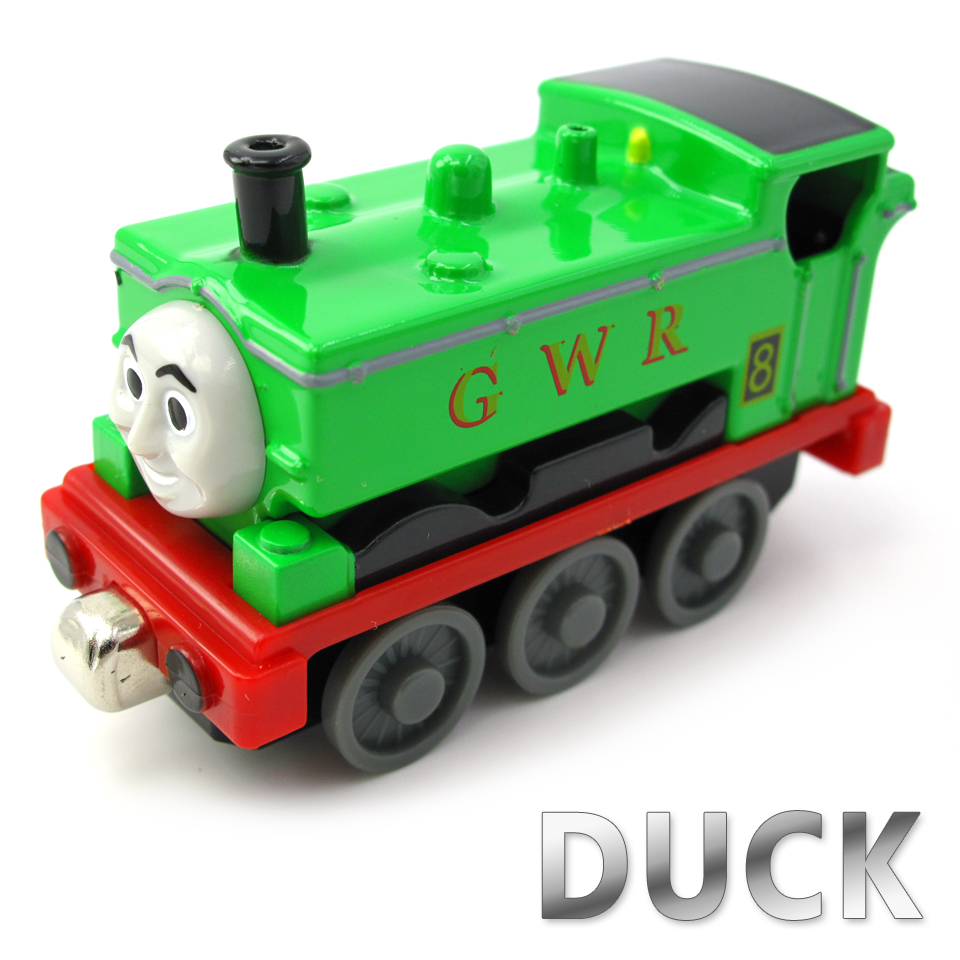Diecasts Vehicles Thomas T044D DUCK Thomas And Friends Magnetic Tomas Truck Car Locomotive Engine Railway Train Toys for Boys