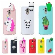 Etui Huawei Mate 20 Lite Case Cover 3D Toy Panda Cactus Sili