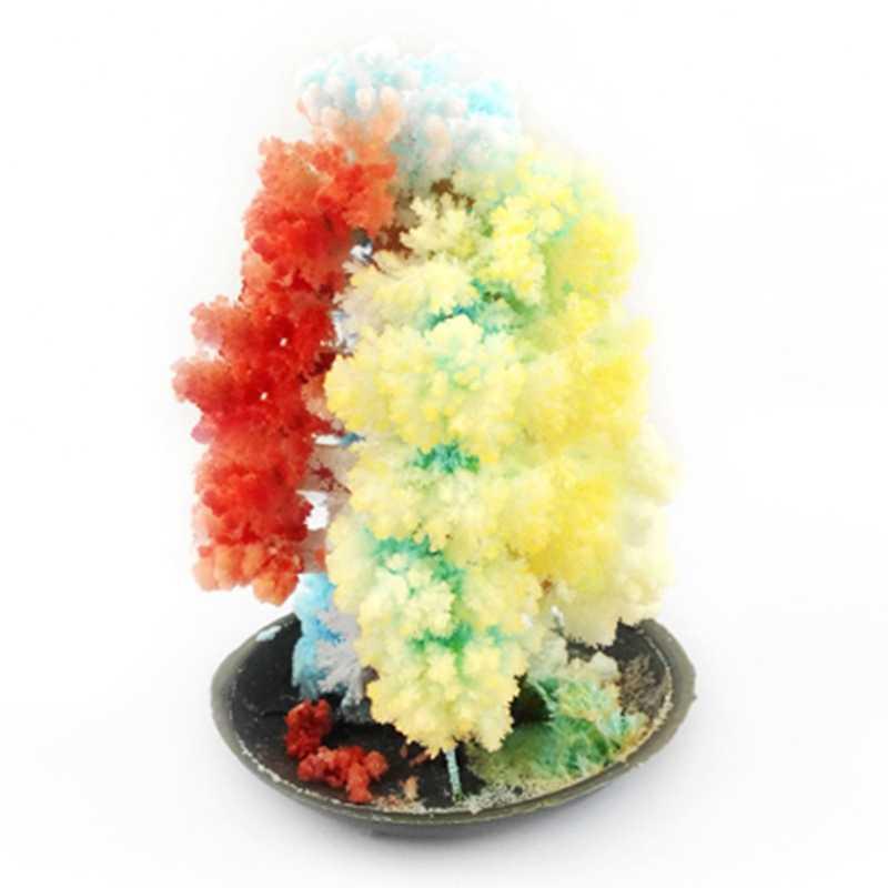 Волшебная растущая елка для мальчиков и девочек DIY многоцветная растущая Елочная игрушка для детей Рождественский подарок чулок Санта-Клауса наполнитель игрушки