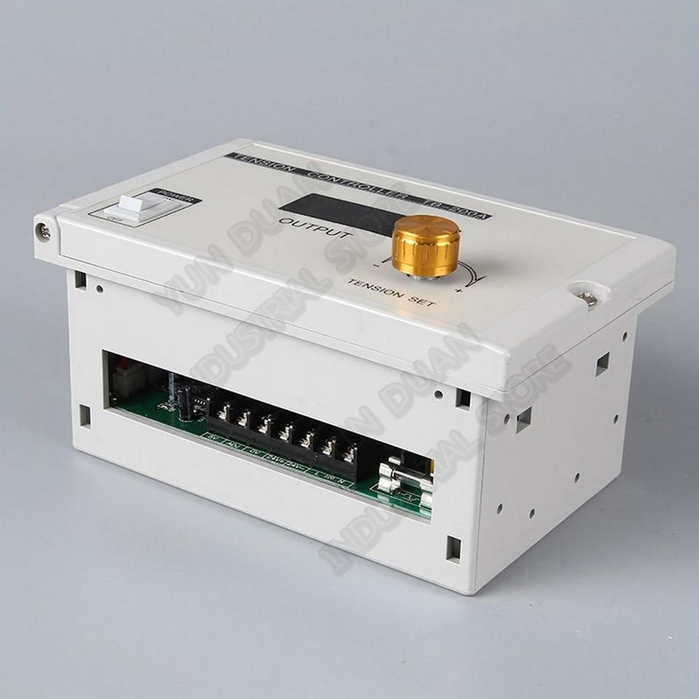 Contrôleur de Tension numérique manuel pour embrayage de frein à poudre magnétique 185V-265VAC 220 V 24 V DC sortie 0-3A potentiomètre contrôle PLC