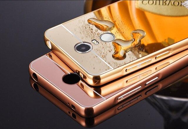 Redmi Note 3 Ultra thin Aluminum Metal Mirror Battery Back Cover Case for Xiaomi Hongmi Note 3 pro  Phone bags