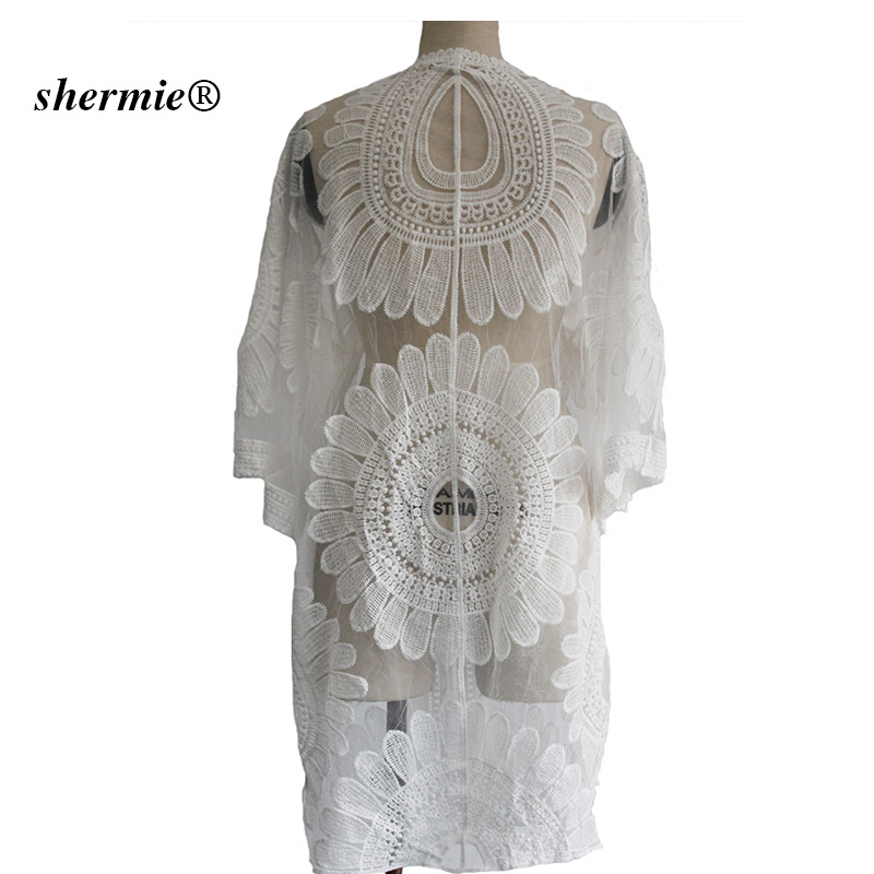 Sexy Sarongs Bikini Beach Tunic Crochet Beach Cover Up Bathing Suit Plus Size White Robe De Plage Swimsuit Women Cover-Ups pareo 7