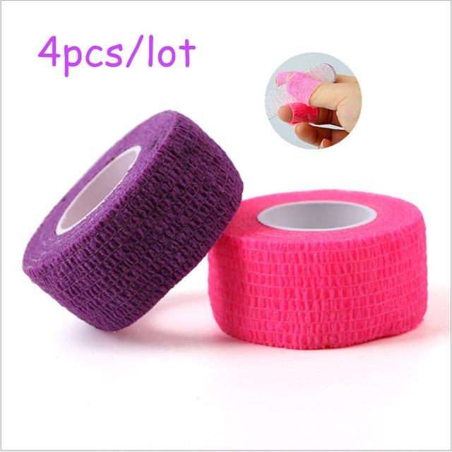 MAOHANG 4pcs/lot Nail Tools Flex Wrap Finger Bandage Nail Art File ...