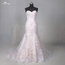 yiaibridal LZ202 Sweetheart Court Train Wedding Dresses