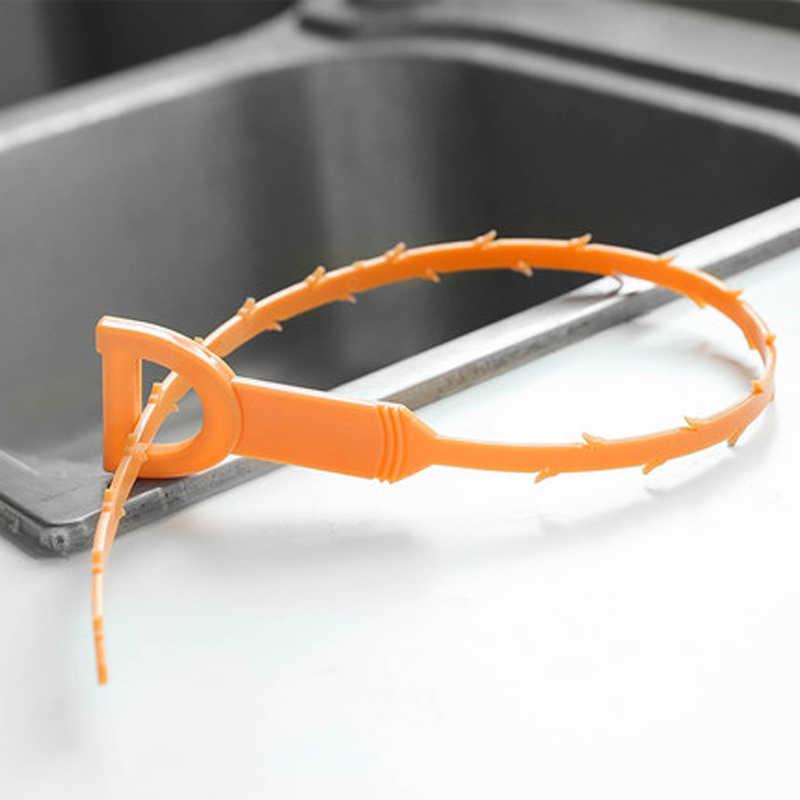 ניקוז נחש מסיר לסתום ניקוז נחש 52 cm 20 אינץ 5 חבילת Remover ניקוי כלי ניקוז נחש ניקוז הקלה מנקה כלי כיור