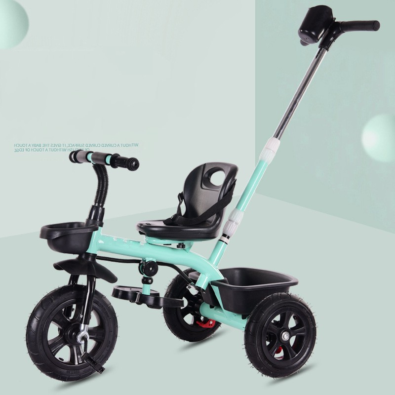 Multifunction Baby Child Tricycle Bike Without Umbrella Safe Seat With Belt Three Wheels Tricycle Stroller For 1-6 Years Old folding rotatory seat baby toddler child steel tricycle stroller bike bicycle umbrella cart removable wash child buggies 6 m 6 y
