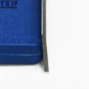 """Image 3 - TASP 5 ペア 8 """"HSS 木材かんな刃 210x16.5x1.5 ミリメートル厚さかんなナイフため ERBAUER 052 BTE"""