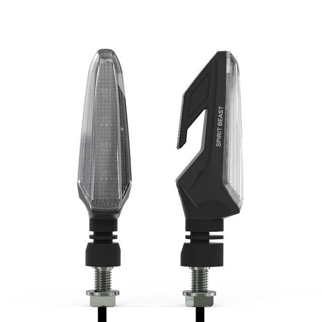חית רוח מותג עמיד למים הפעל אורות אותות הפעל אופנועים LED כיוון מנורת דקורטיבי מוטוקרוס אורות בשעות היום מנורה