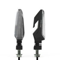 SPIRIT BEAST Brand Waterproof Turn Lights Motorcycle Turn Signals LED Direction Lamp Decorative Motocross Lights Daytime