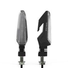 SPIRIT BEAST бренд водостойкие поворотные огни мотоцикл поворотники светодио дный направляющие лампы декоративные Мотокросс огни Дневные Лампы