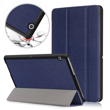 Slim Case for Huawei MediaPad T3 10 ,PU Leather Folding Stand Cover for Huawei T3 10 Case  AGS-L09 AGS-W09 Tablet Case цена в Москве и Питере