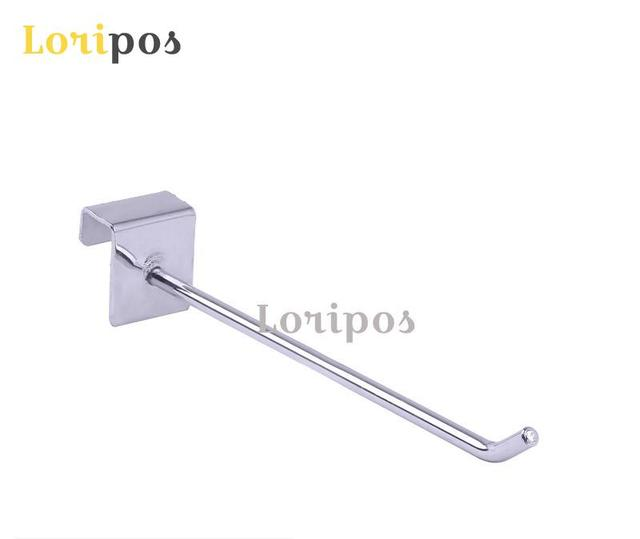 Shelf Wall Mounting Buckle Hook Shelf Hanger Hardware Metal Display Hook Orgnaizer Bracket Sloped Ball Hook Shelf Hook Mount