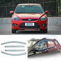 4pcs New Clear Window Vent Shade Visor Wind Deflectors For Ford Focus Hatchback