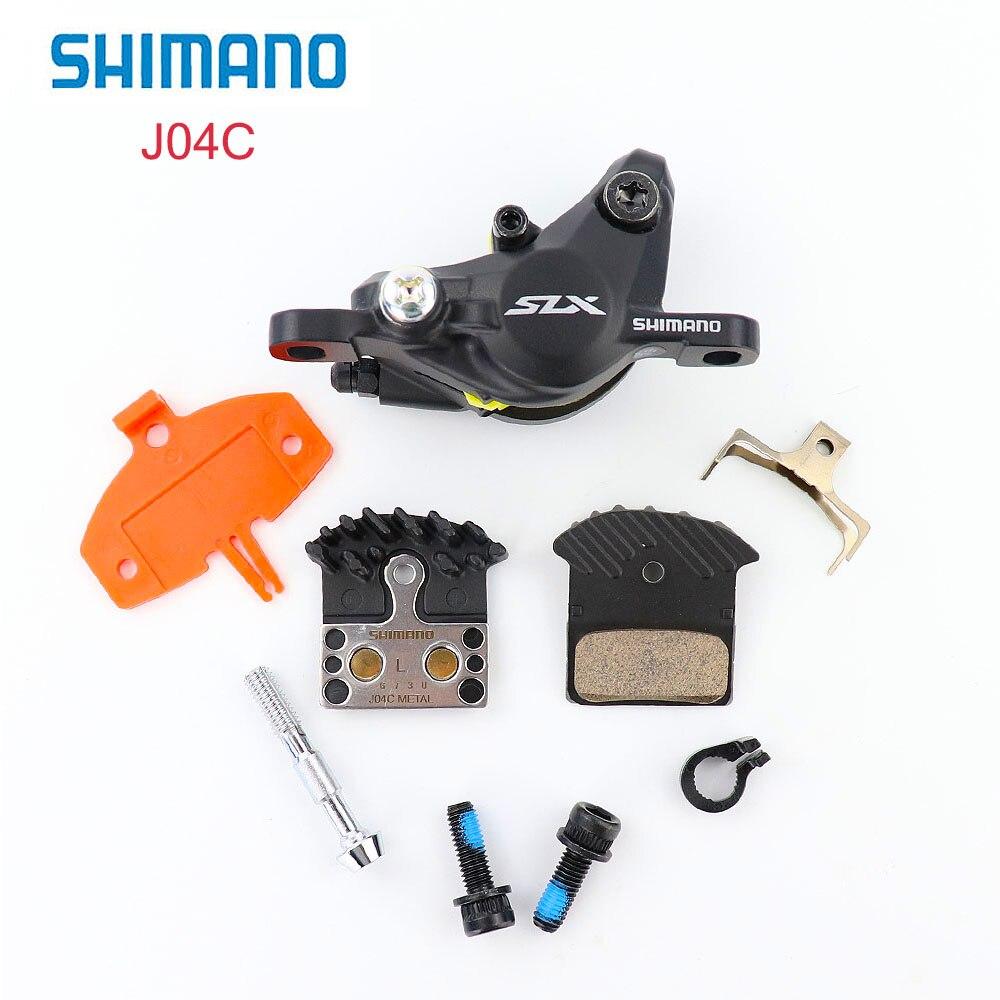 SHIMANO SLX BR-M7000 Hydraulique Frein À Disque avec J04C Métal ICE-TECH Plaquettes 1 pièces ou G02S tampons de résine 1 pièces VTT accessoires