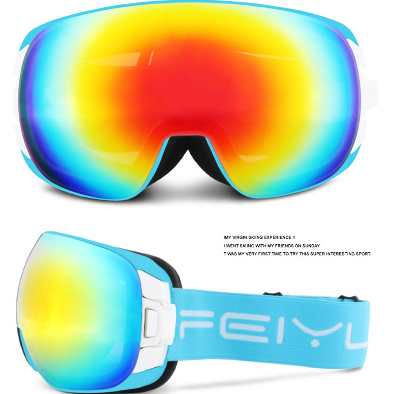 ski goggles UV400 anti-fog big ski double layers tpu glasses skiing men women snow snowboard gogglesski goggles UV400 anti-fog big ski double layers tpu glasses skiing men women snow snowboard goggles