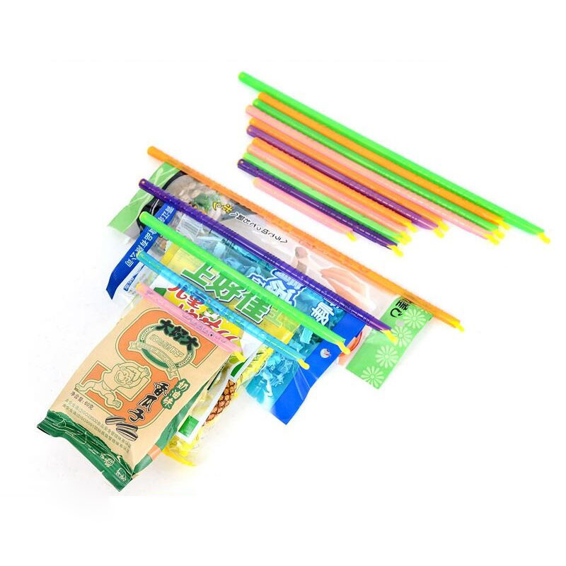 150packs Mixed Reusable Bag Sealer Fresh Food Sealed Organizer Storage Home Kitchen Clips Seal Lock Sticks Za1297 In From Garden