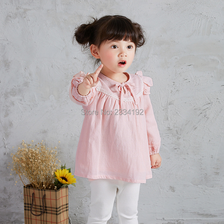 2017 New Arrival Spring Baby Girls Dress Designs O Neck ...