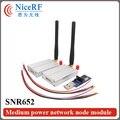 2 шт. 3 км Долго Звенел 433 МГц Интерфейс RS485 Беспроводной Приемопередатчик Данных SNR652 + 2 шт. Антенна + 2 шт. USB Brigde доска