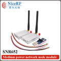 2pcs 3km Long Rang 433MHz RS485 Interface Wireless Data Transceiver SNR652+2pcs Antenna+2pcs USB Brigde board