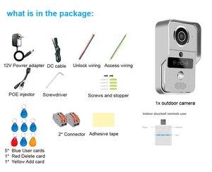 Image 5 - Smart 1080P Home WiFi Video Door phone intercom Doorbell Wireless Unlock Peephole Camera Viewer