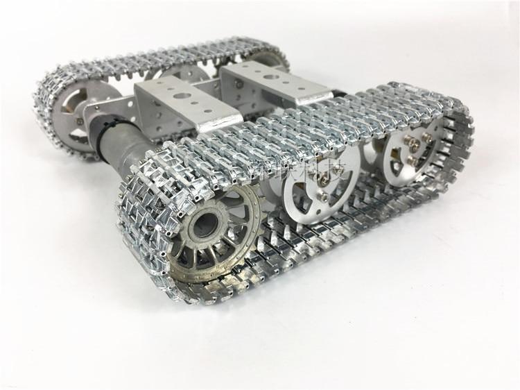 Wenhsin T101 Metal Mini Car Tank Caterpillar Smart Car Robot Tank Model wenhsin pw m25 diy mini rc tank with