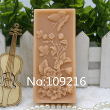 New Product!!1pcs Small Flowers(zx320) Food Grade Silicone Handmade Soap Mold Crafts DIY Mould
