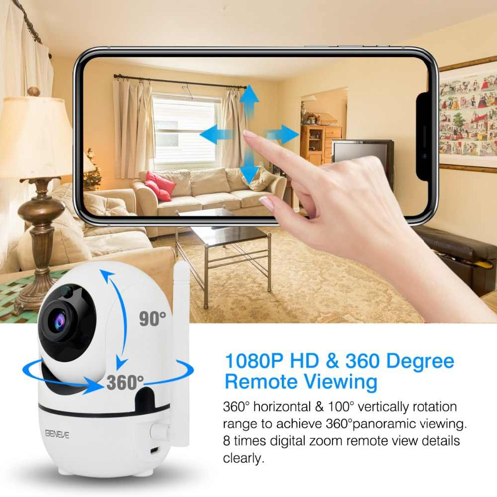 1080P IP Camera Wireless Home Security Camera Remote Surveillance Camera Wifi Nachtzicht CCTV Babyfoon