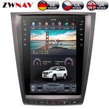 ZWNVA Тесла ips Экран Android Системы автомобиль не dvd-плеер радио gps навигации для lexus GS GS300 GS350 GS450 GS460 2004-2011