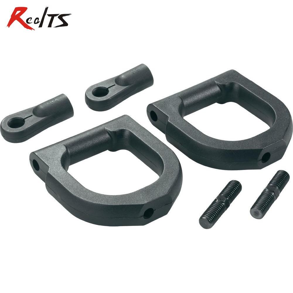Realts 2 peças/set 112004 fs corrida/mcd/fg/cen/reely 1/5 escala rc carro de suspensão superior braço para o buggy, Truggy, MT, SC