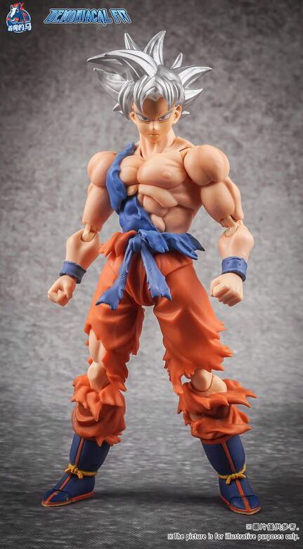 Demoniacal Fit  Ultra Instinct Custom headsculpt Set for SHF Goku,In stock!