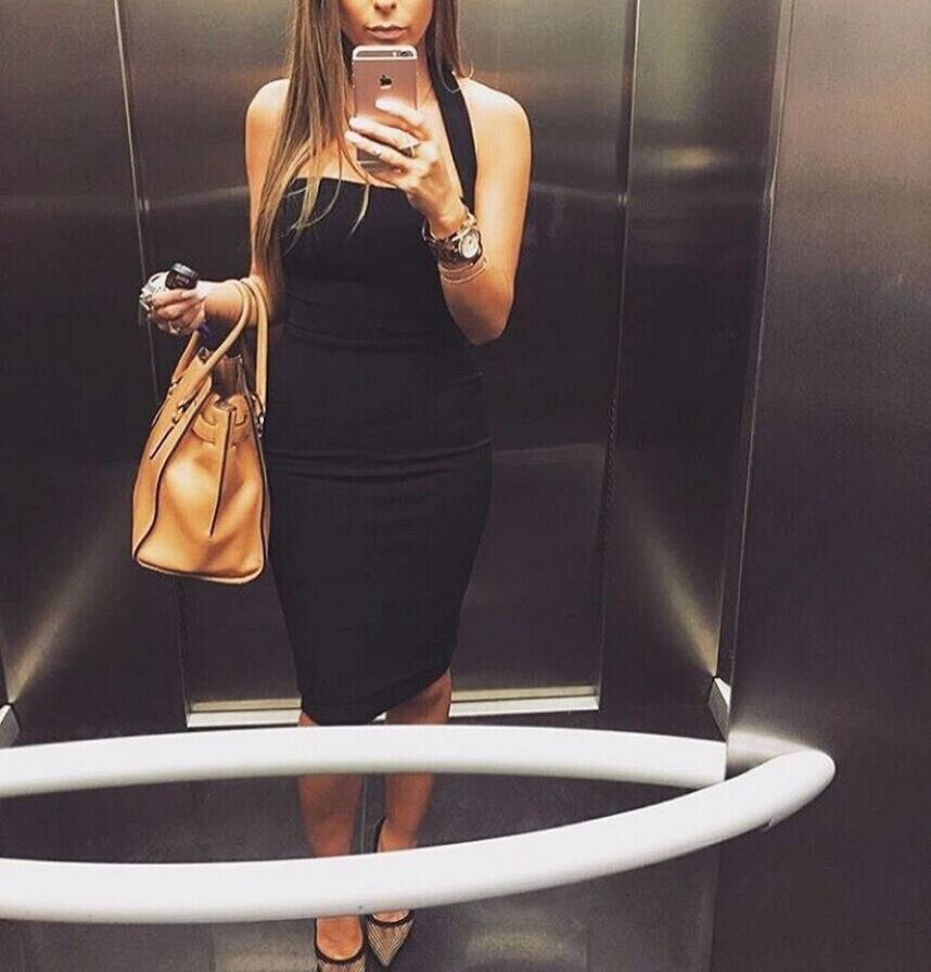 HTB15mRbbznuK1RkSmFPq6AuzFXak ZSIIBO Summer Bandage Dress Women Vestidos 2019 New Sexy Bodycon Celebrity Evening Party Dresses Elegant Halter Midi Club Dress