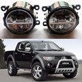 Для Mitsubishi GALANT Grandis OUTLANDER PAJERO L200 2003-2012 LED противотуманные фары стайлинга Автомобилей Противотуманные Фары Общие 1 КОМПЛ.