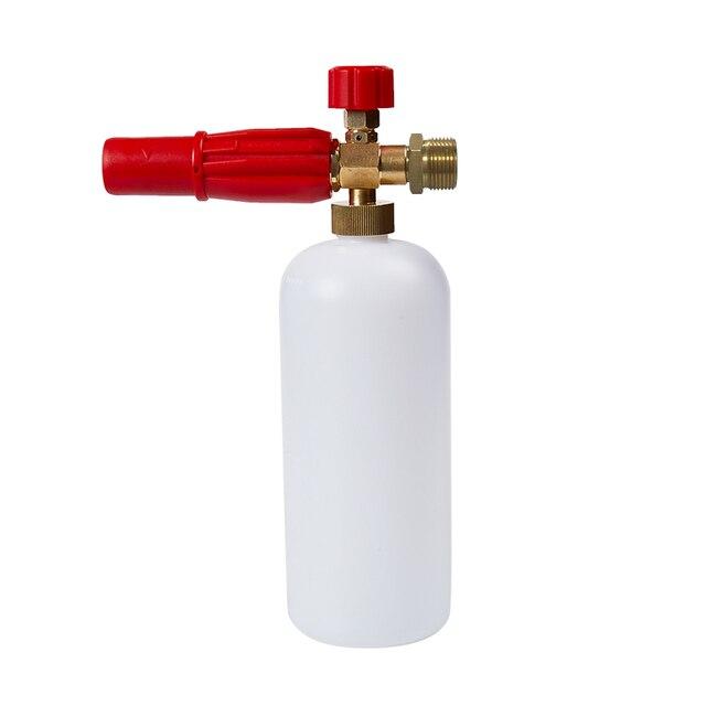 高圧洗浄機、kranzle、M22 男性、雪の泡ランス、泡発生器、フォームガン、ネジアダプター接続、泡ノズル