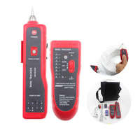 New Wire Coaxial Cable Tracking Network Tester Line RJ45 RJ11 Telephone Phone EM88