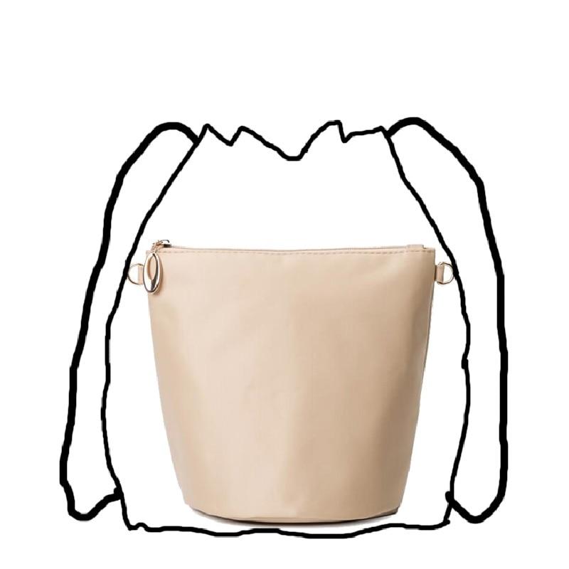 Organizer Bag For Bucket Handbag Bucket Bag Inserts (Apricot, Black, Coffee)