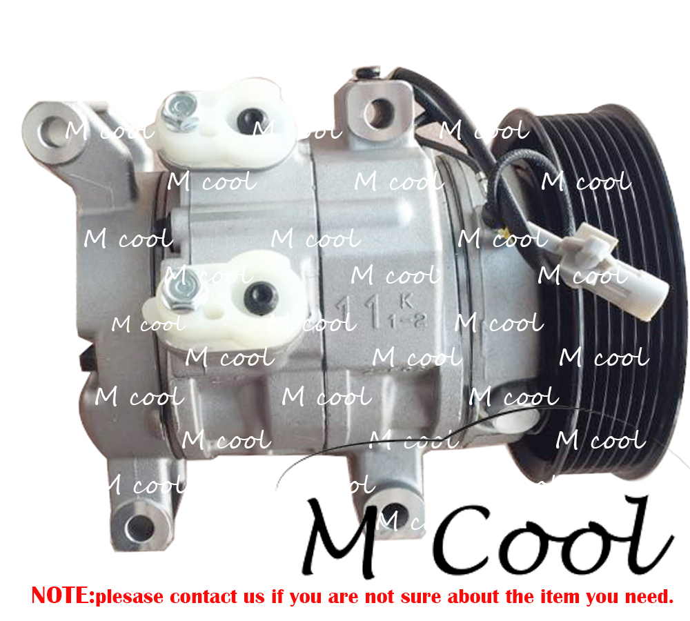 10S11C AC Compressor For Toyota Hilux III Pick up 2 5D 4D 3 0D 4D 447160 1970 447160 2020 447180 8280 447260 8020 4471601970 in Air conditioning Installation from Automobiles Motorcycles