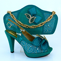 New fashion african shoe and bag set for party italian shoe with matching bag new design ladies matching shoe and bag !MVB1-39